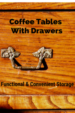 Coffee Tables With Drawers