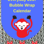 2017 Bubble Wrap Calendar