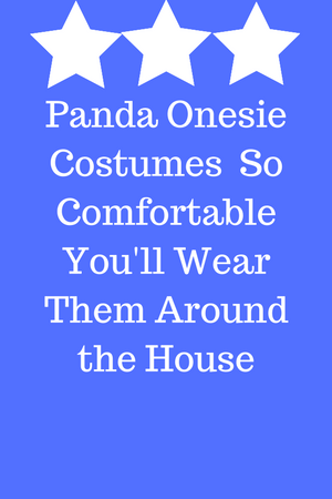 Panda Onesie For Adults