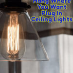 Plug In Ceiling Light