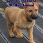 German Shepherd Stuffed Animal
