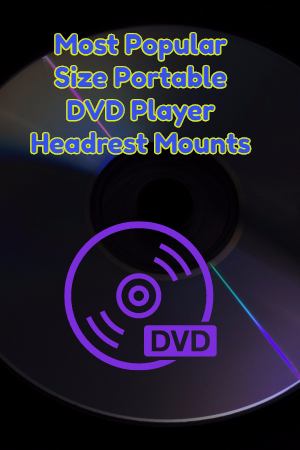 Portable DVD Player Headrest Mount