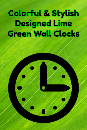 functional decorative practical clocks
