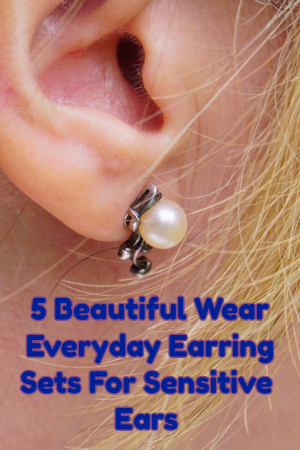 hypoallergenic earrings for sensitive ears